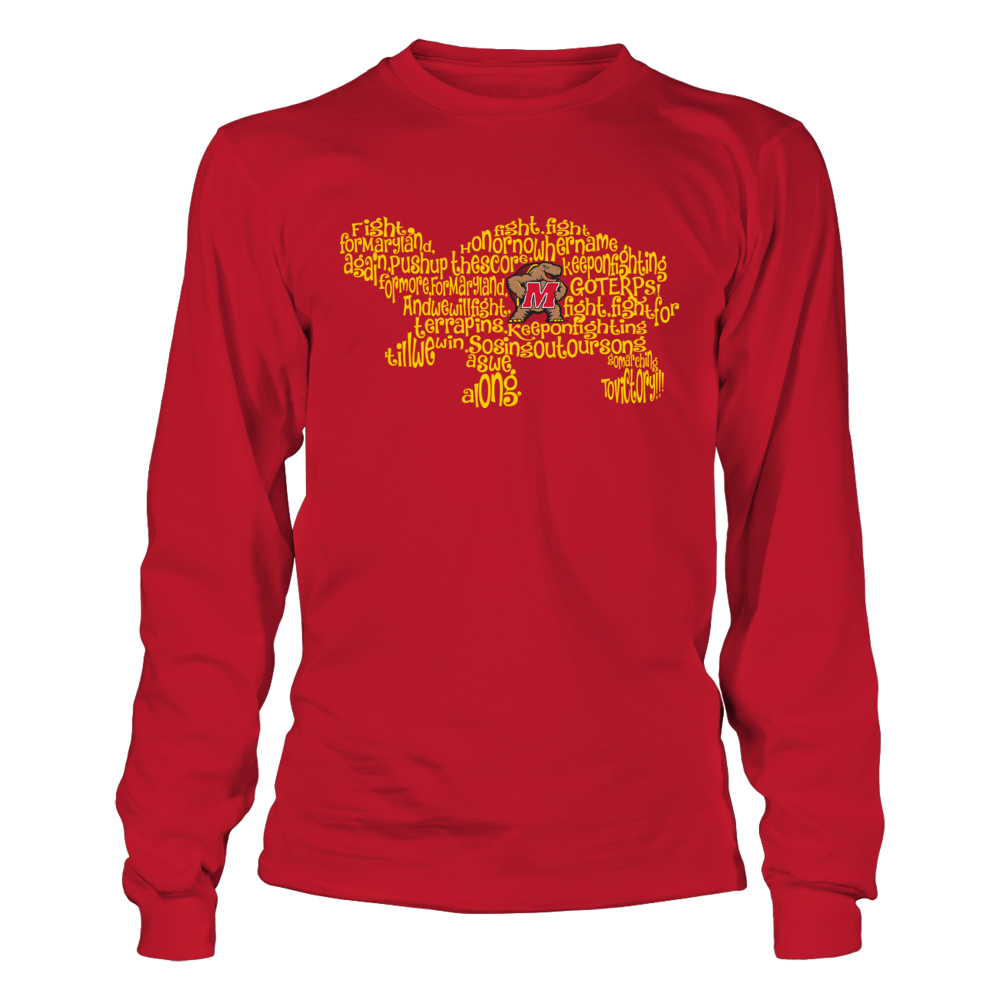 Maryland Terrapins - Fight Song Inside Mascot - Turtle Front picture