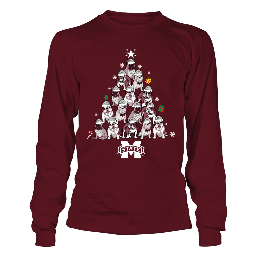 Mississippi State Bulldogs - Christmas - Bulldogs Love Team Front picture