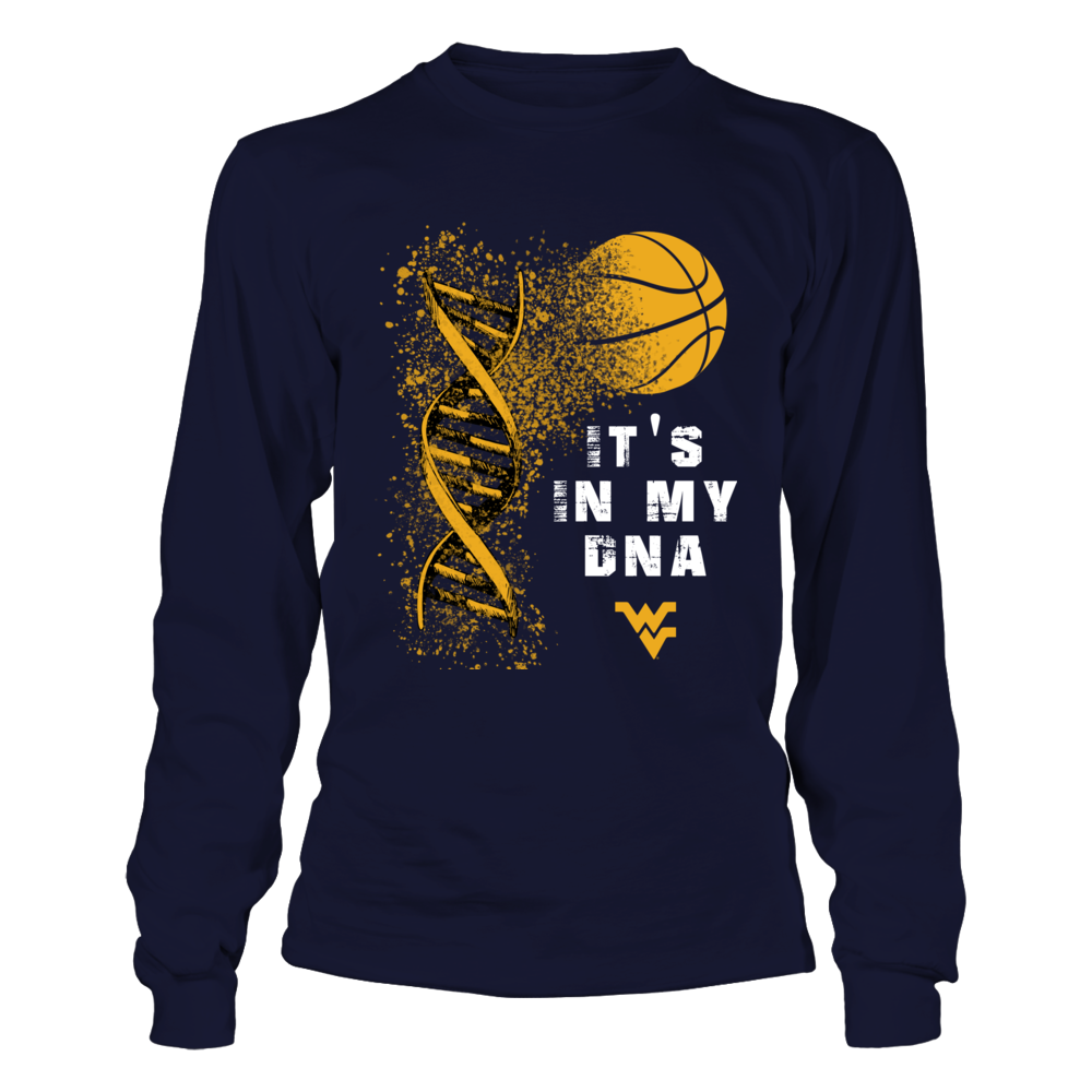 West Virginia Mountaineers - Basketball DNA Front picture