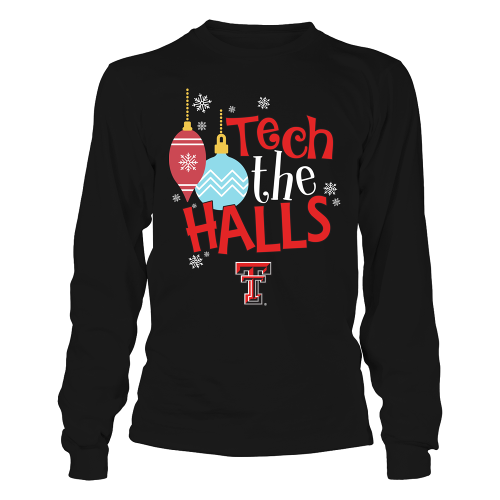 Texas Tech Red Raiders - Christmas - Funny Team Slogan Front picture