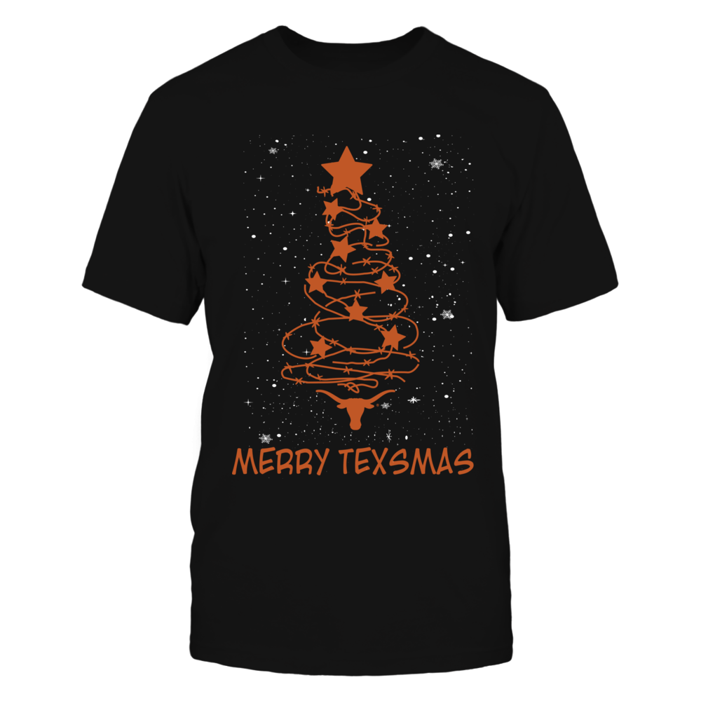 Texas Longhorns - Barbed Wire Christmas Tree Front picture