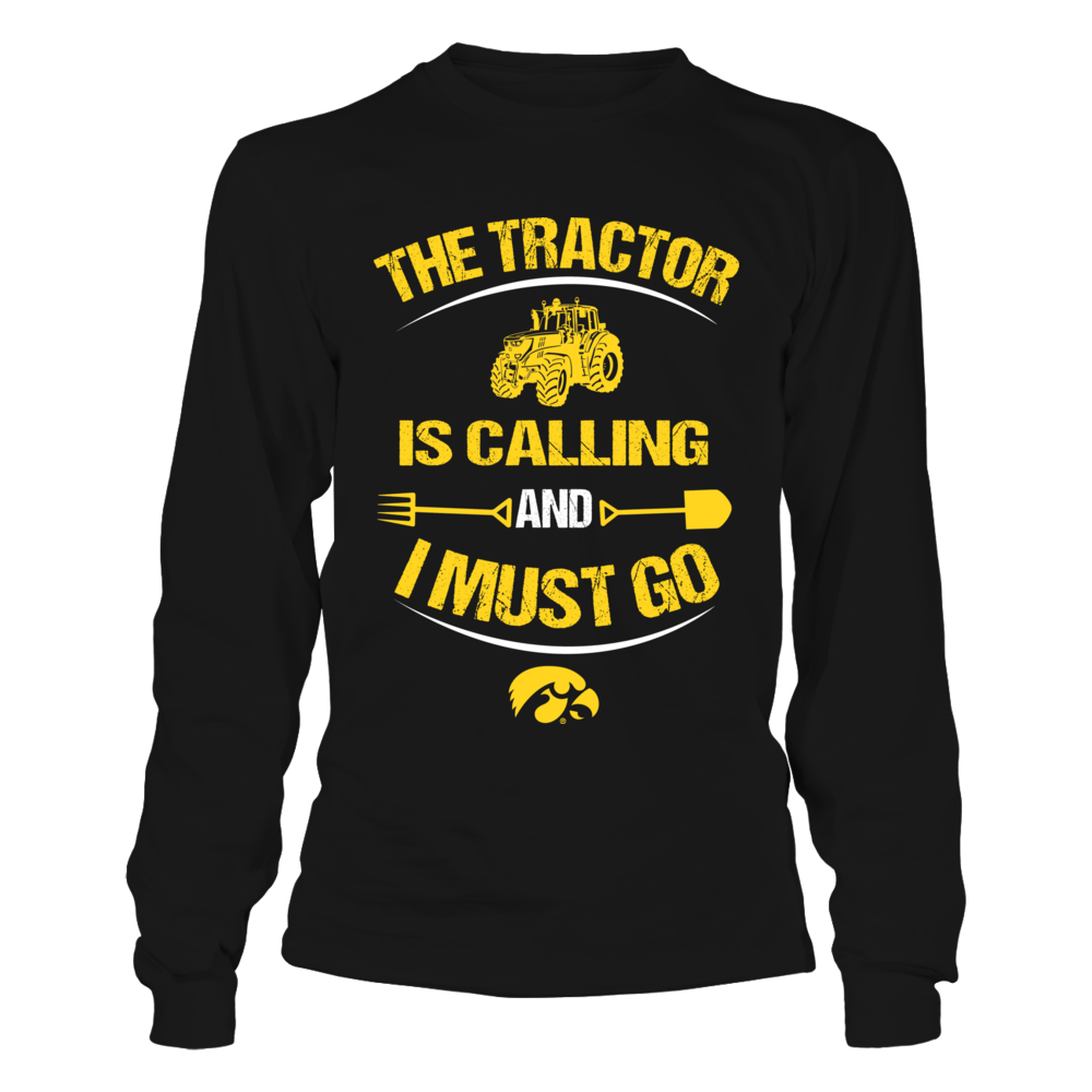 Iowa Hawkeyes - Farmer - The Tractor Is Calling Front picture