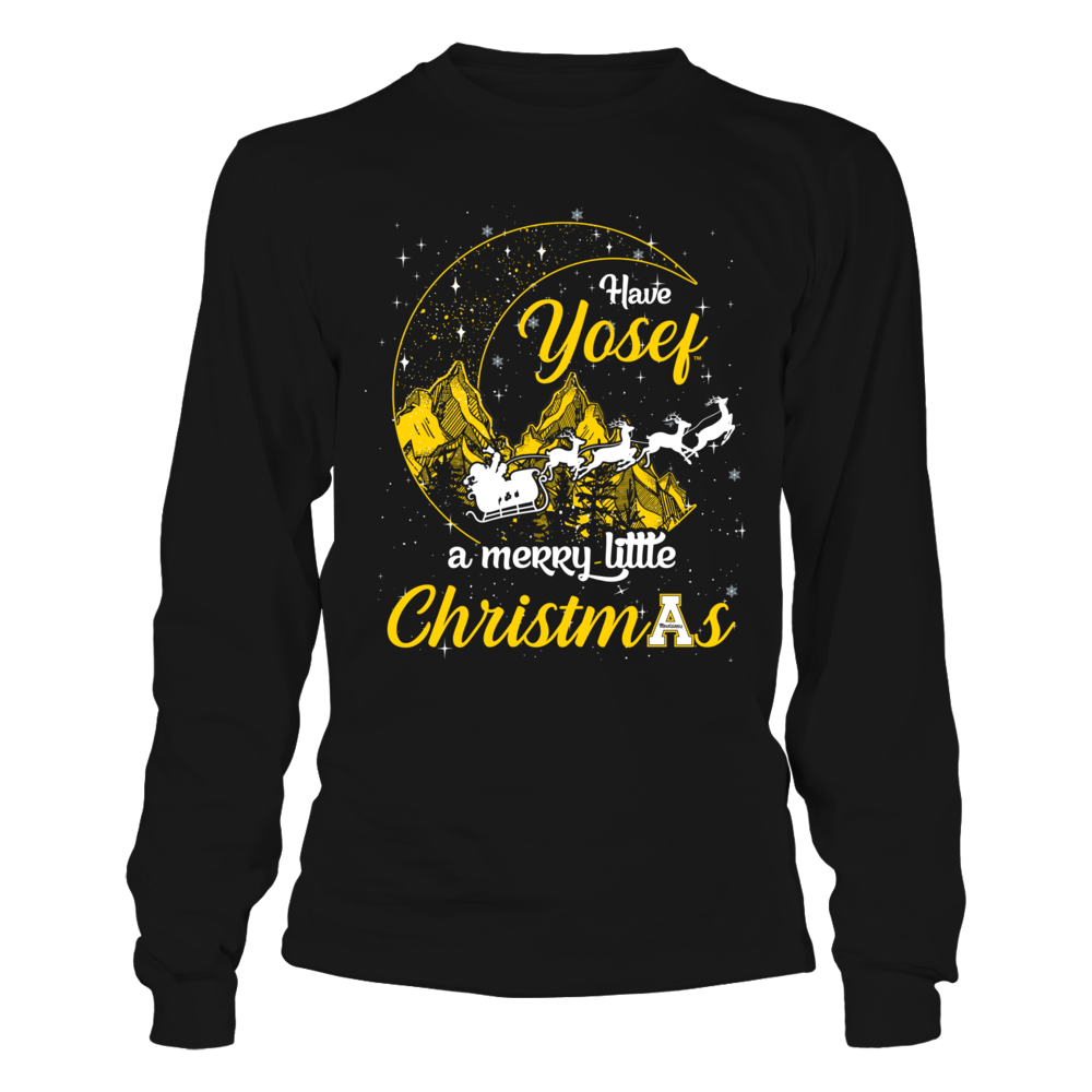 Appalachian State Mountaineers - Christmas - Mountain Moon - Yosef Front picture