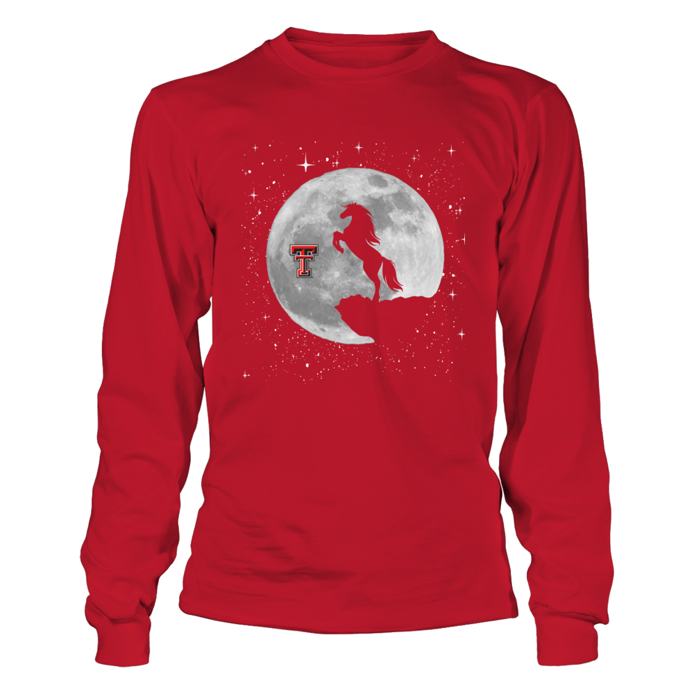 Texas Tech Red Raiders - Moon Horse Front picture