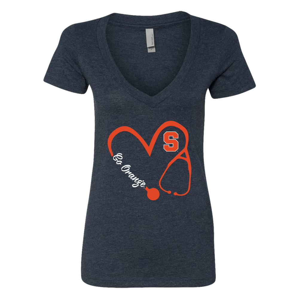 Syracuse Orange - Heart 3/4 - Nurse - IF-IC78-DS37 Front picture