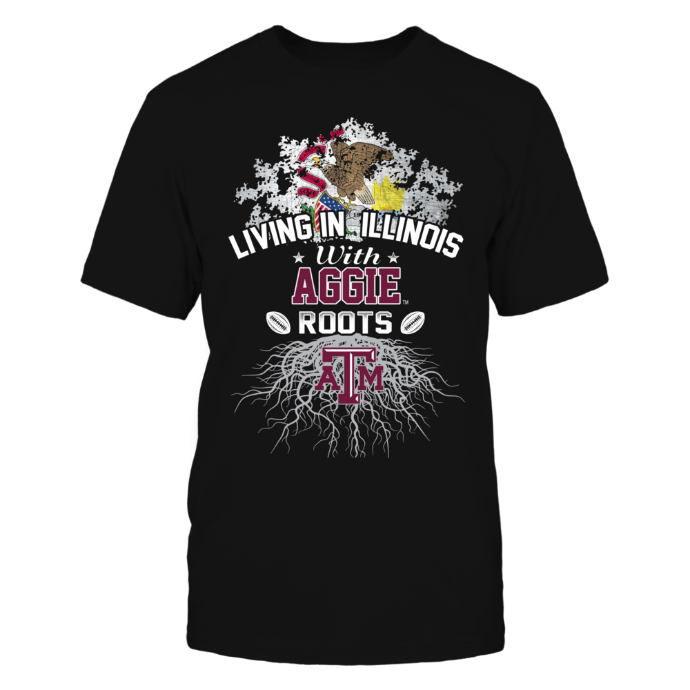 Living in Illinois with Aggies Roots Front picture