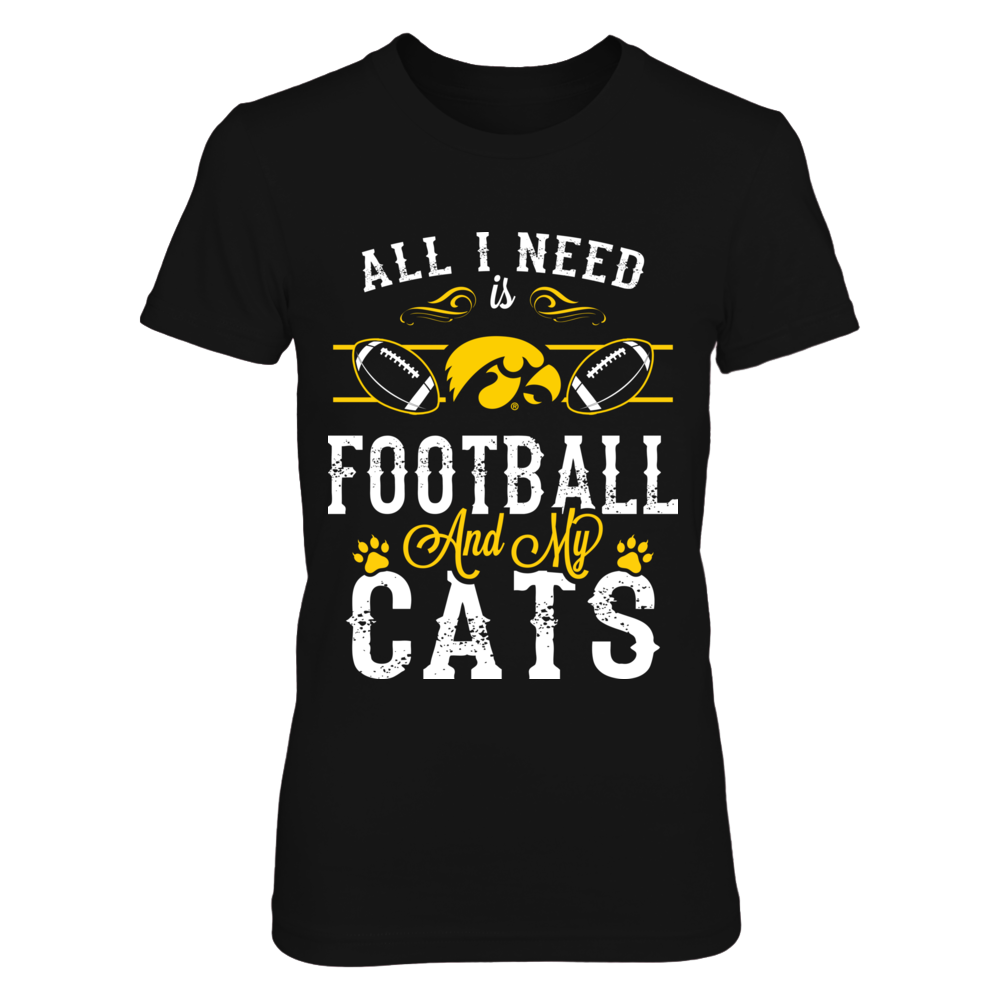 Iowa Hawkeyes - All need Football Cats Front picture