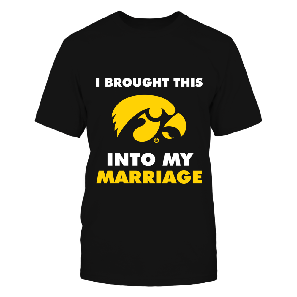 Iowa Hawkeyes - Brought into marriage Front picture
