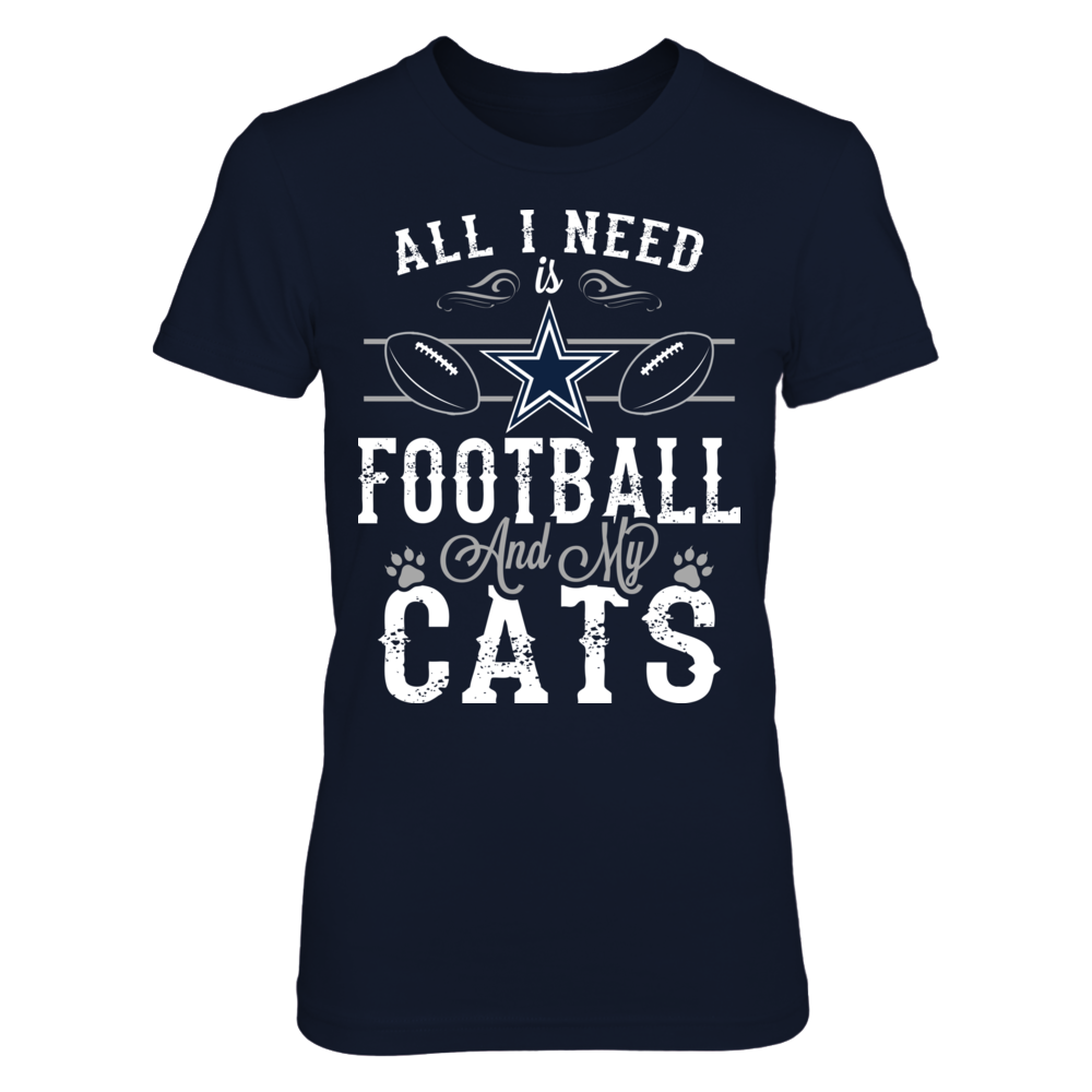 Dallas Cowboys - All need Football Cats Front picture