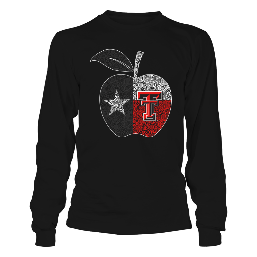 Texas Tech Red Raiders - Teacher Apple Flag Front picture