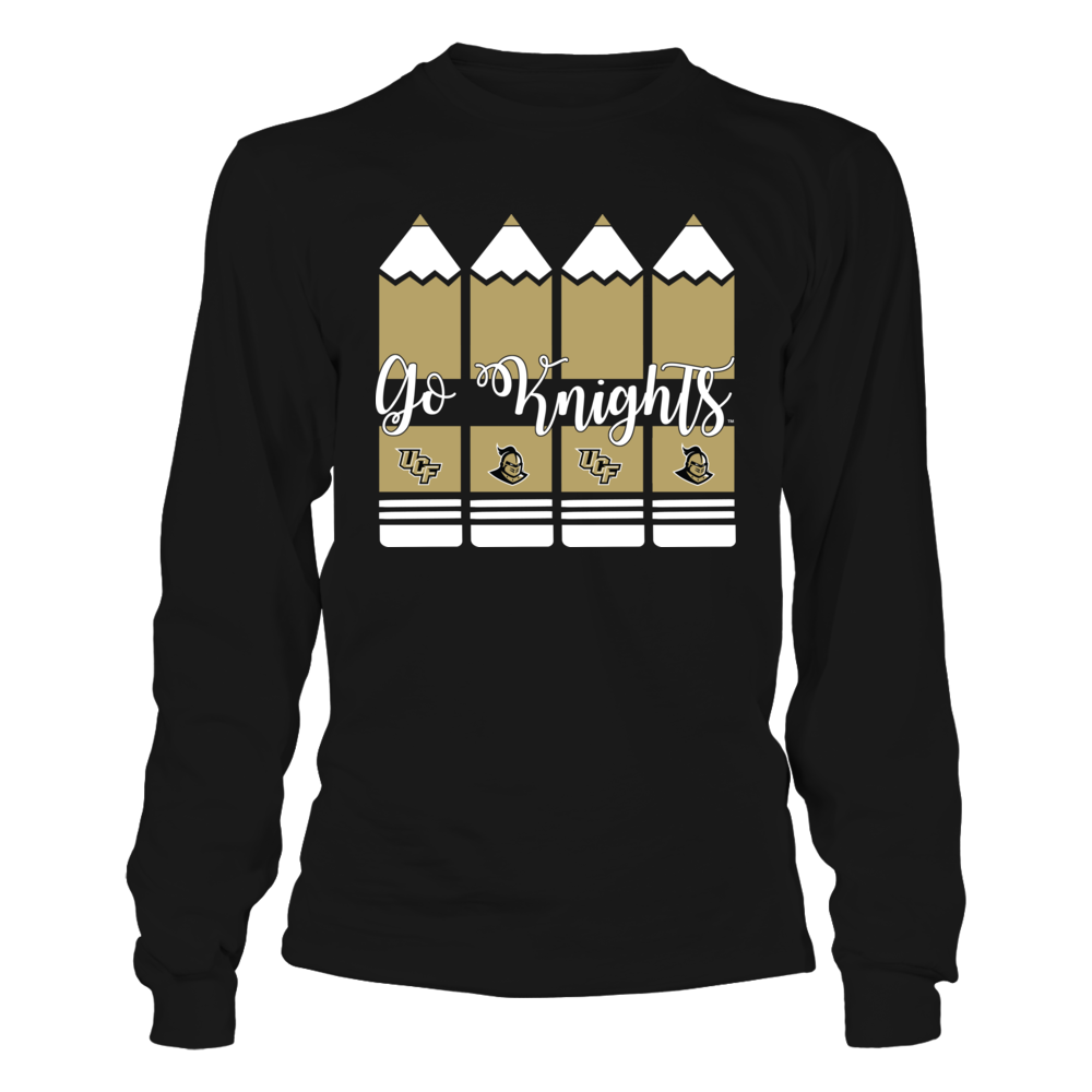 UCF Knights - Teacher - Pencils - Cut Through Front picture