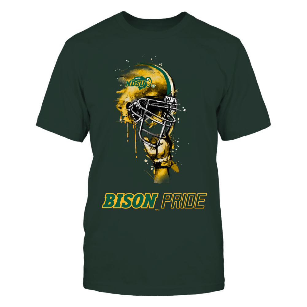 North Dakota State Bison - Rising Helmet - IF-IC17-DS45 Front picture