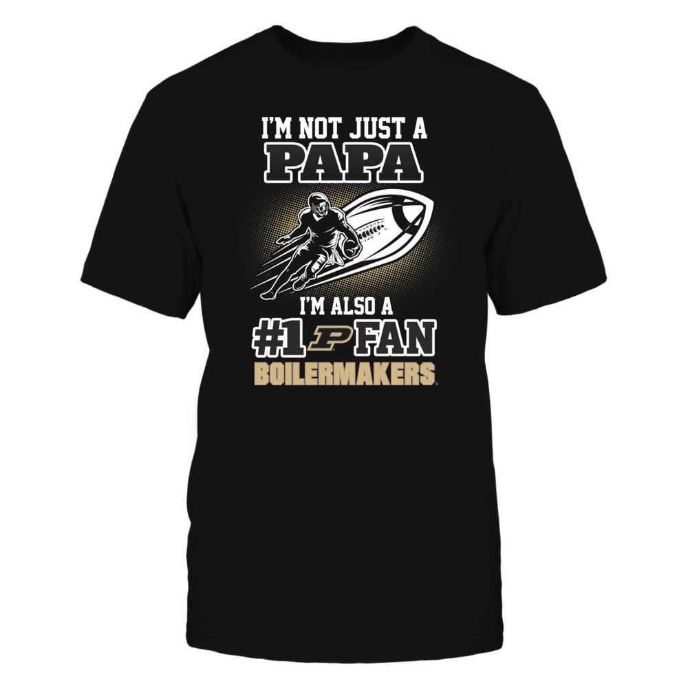 Purdue Boilermakers - Not Just A Papa Front picture