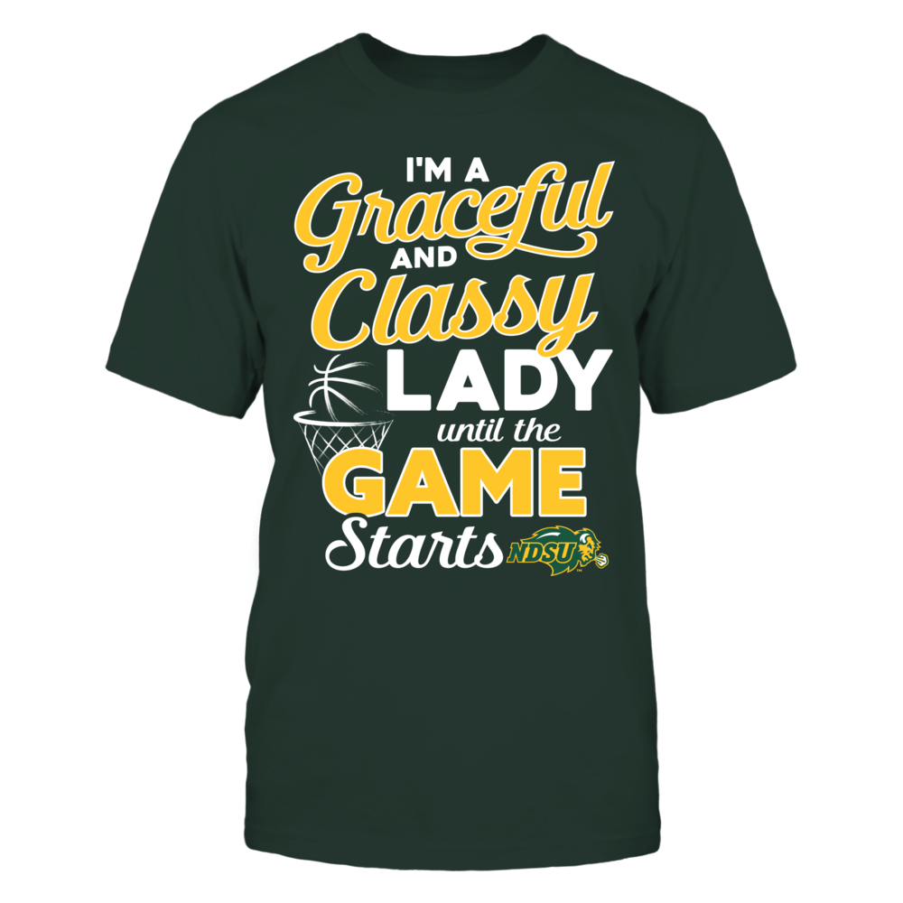 North Dakota State Bison - A Graceful Classy Lady Front picture