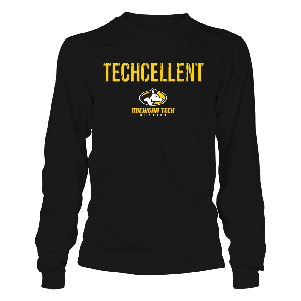 Michigan Tech Huskies - Techcellent Front picture