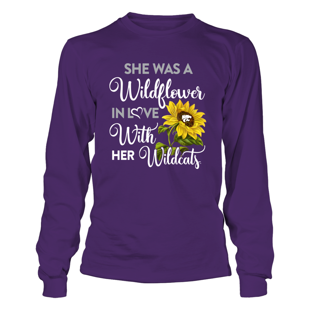 Kansas State Wildcats - She Was A Wildflower Front picture