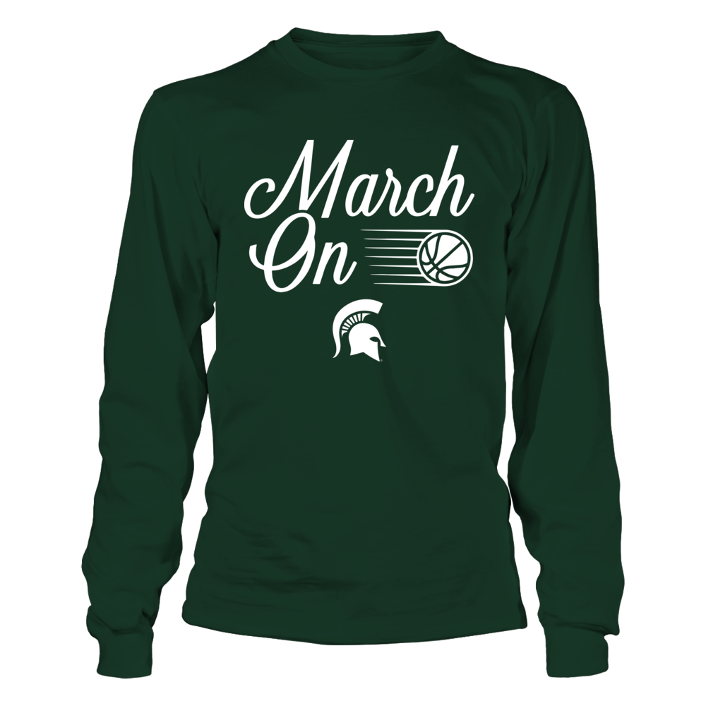 Michigan State Spartans - March On Front picture