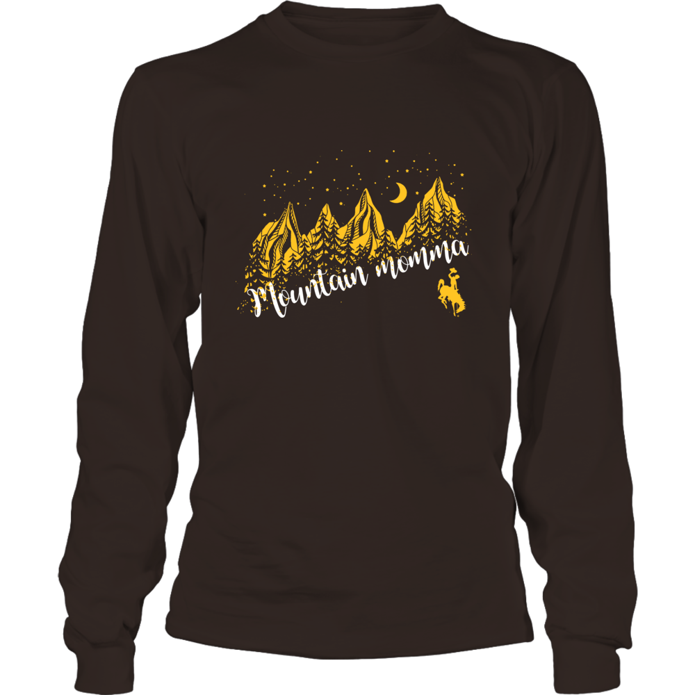 Wyoming Cowboys - Mountain Momma - Mountains in Night Front picture