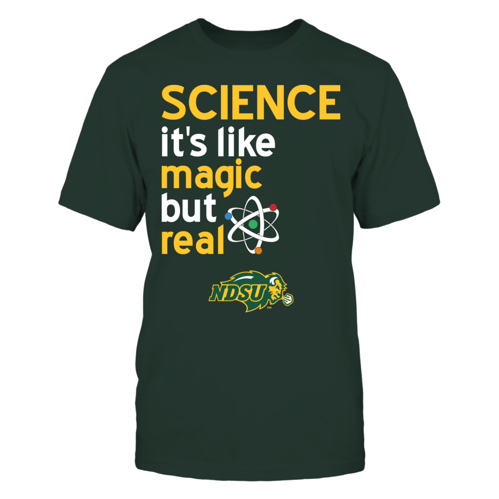 North Dakota State Bison - Science Lover Front picture