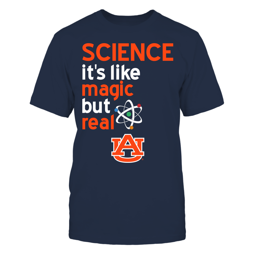 Auburn Tigers - Science Lover - Magic But Real Front picture