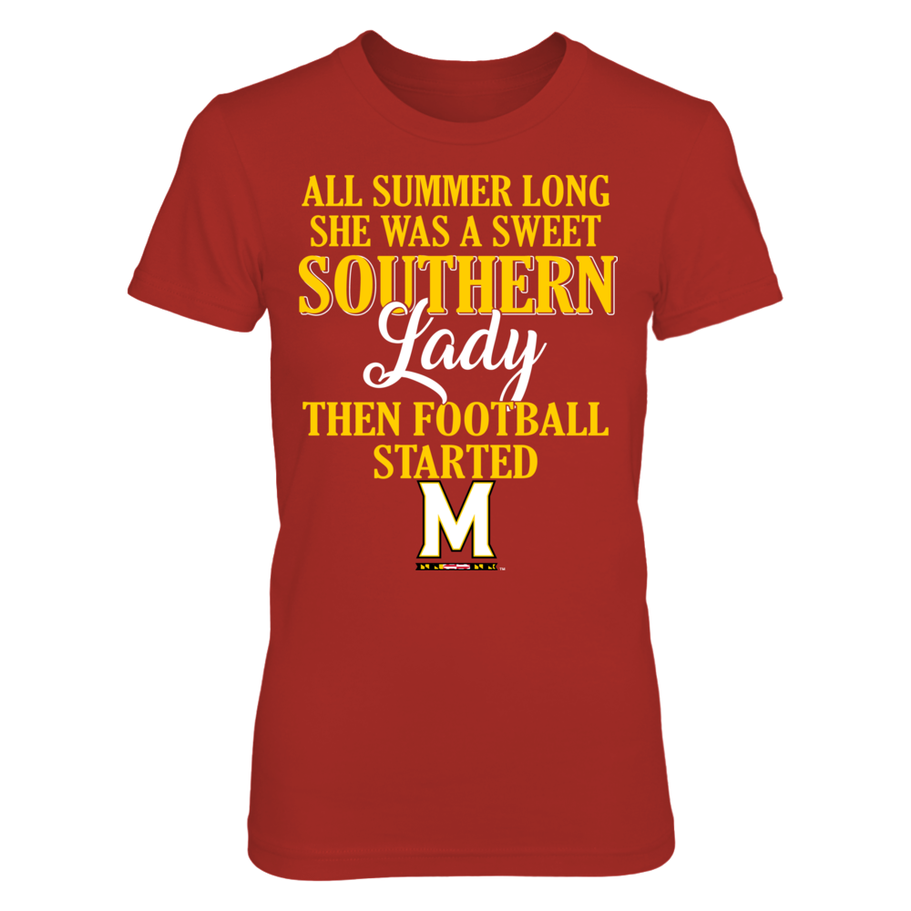 Maryland Terrapins - Southern Lady Front picture