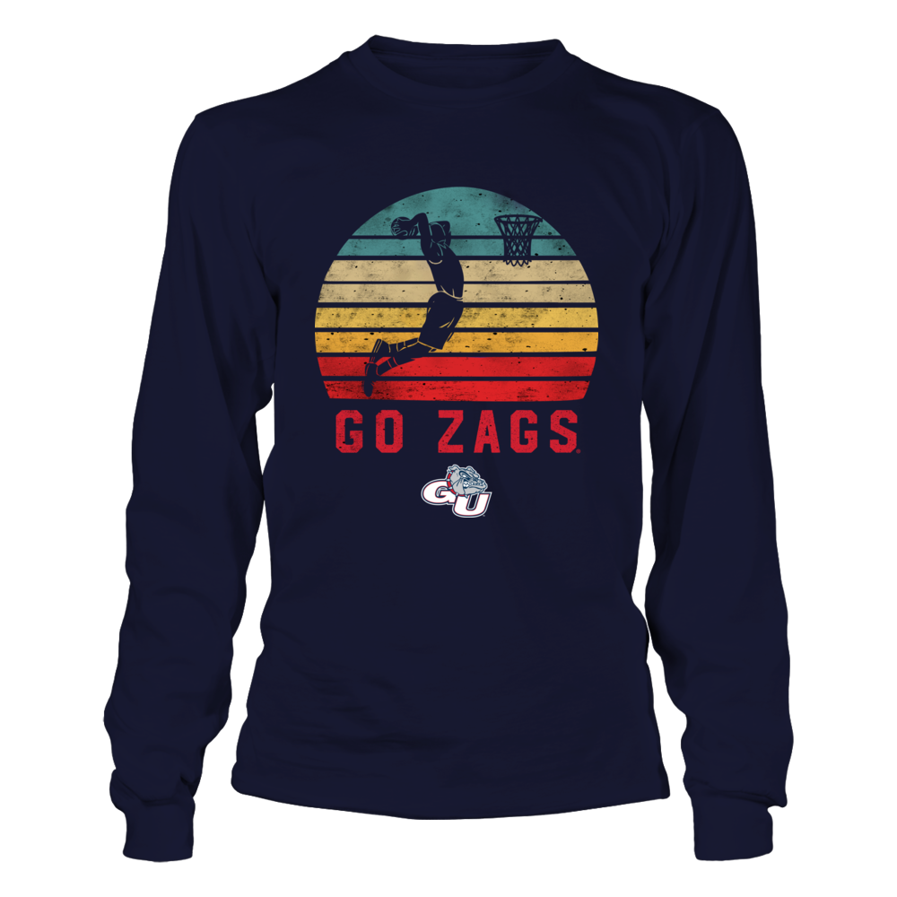 Gonzaga Bulldogs - Basketball Player - Retro Style Front picture