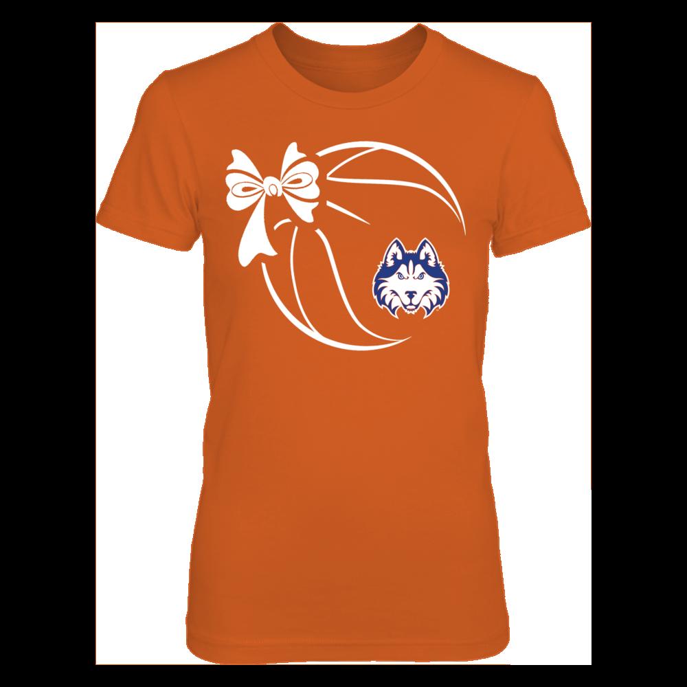 Houston Baptist Huskies - Basketball Ribbon Front picture