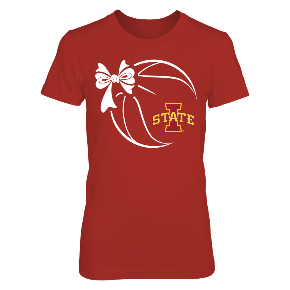 Iowa State Cyclones - Basketball Ribbon Front picture