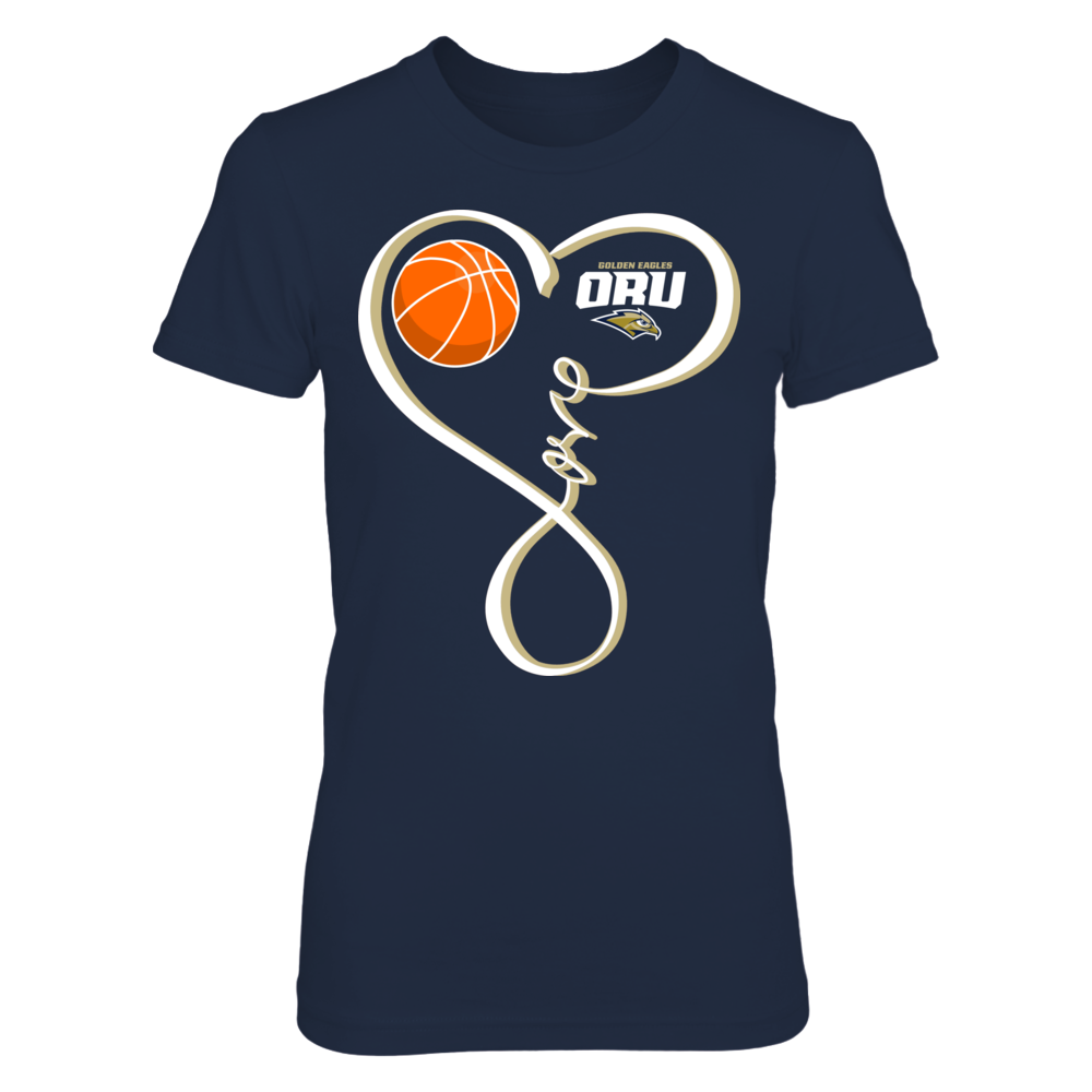 Oral Roberts Golden Eagles - Basketball Love Loop Front picture
