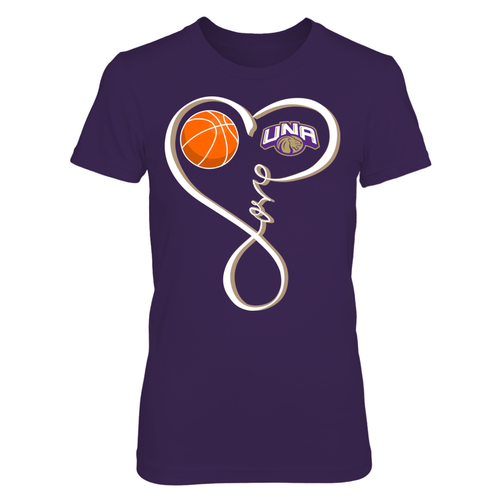 North Alabama Lions - Basketball Love Loop Front picture