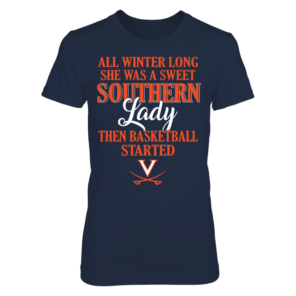 Virginia Cavaliers - All Winter Long She Was A Sweet Southern Lady Front picture