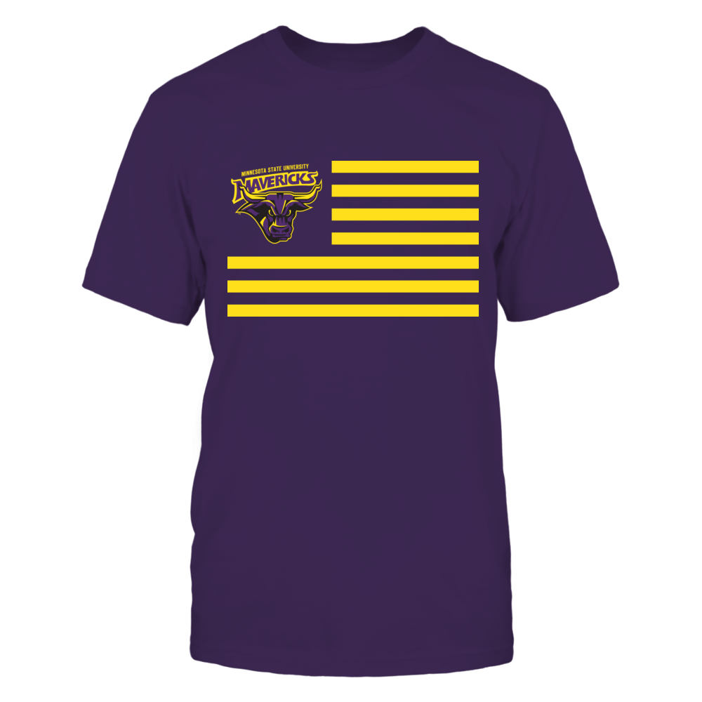 Minnesota State Mavericks & Stripes Front picture