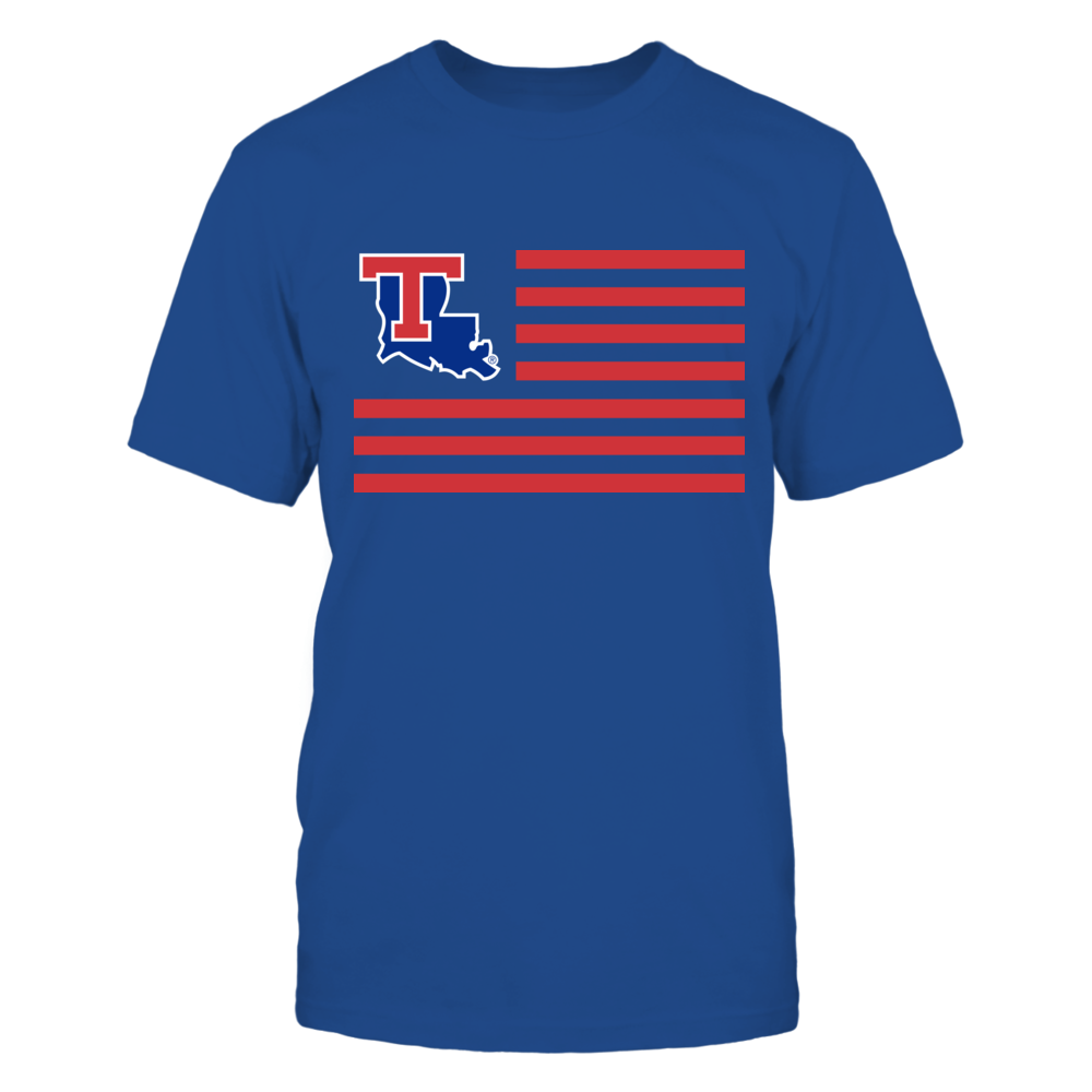 Louisiana Tech Bulldogs & Stripes Front picture