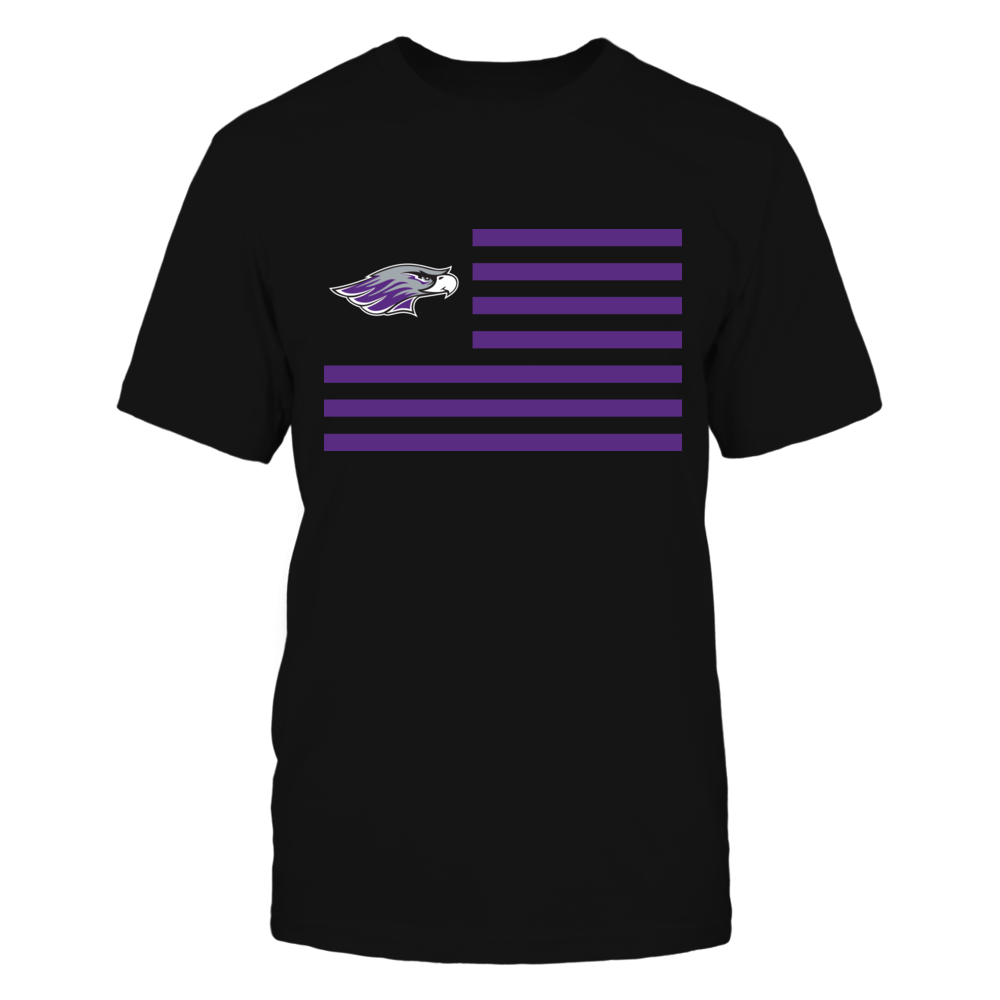 Wisconsin-Whitewater Warhawks & Stripes Front picture