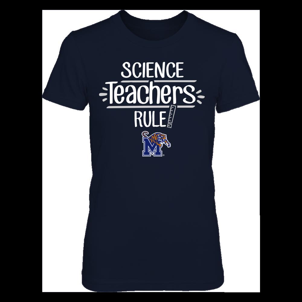 Memphis Tigers - Science Teachers Rule Front picture