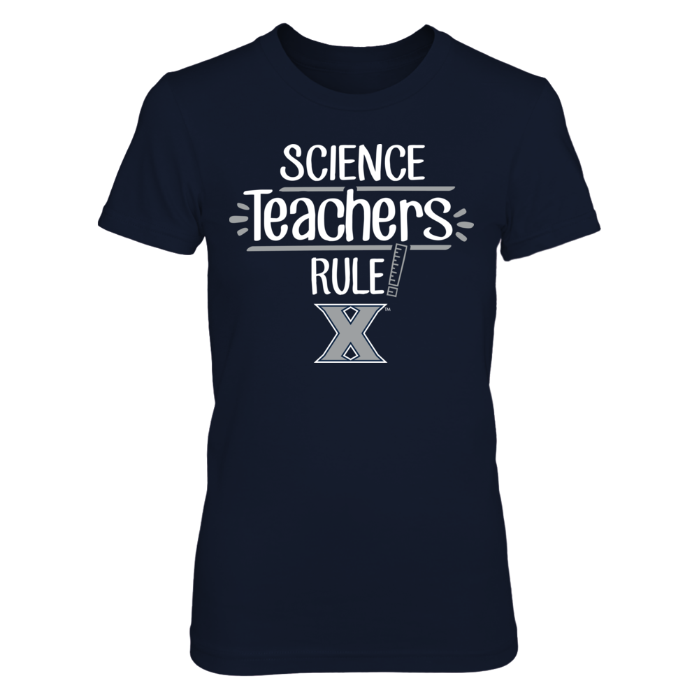 Xavier Musketeers - Science Teachers Rule Front picture