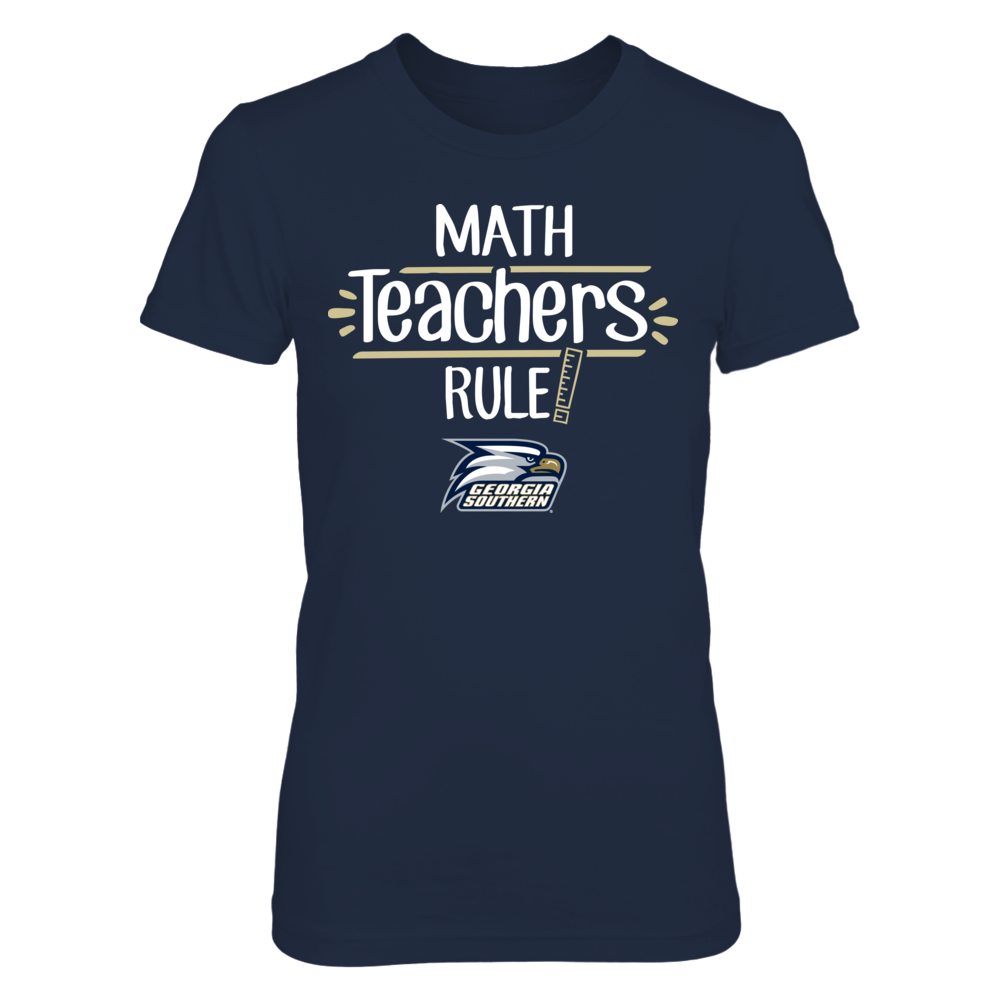 Georgia Southern Eagles - Math Teachers Rule Front picture