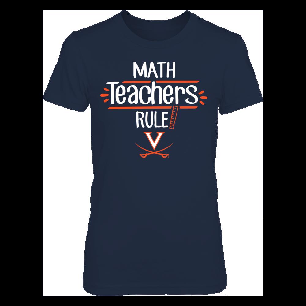 Virginia Cavaliers  - Math Teachers Rule Front picture