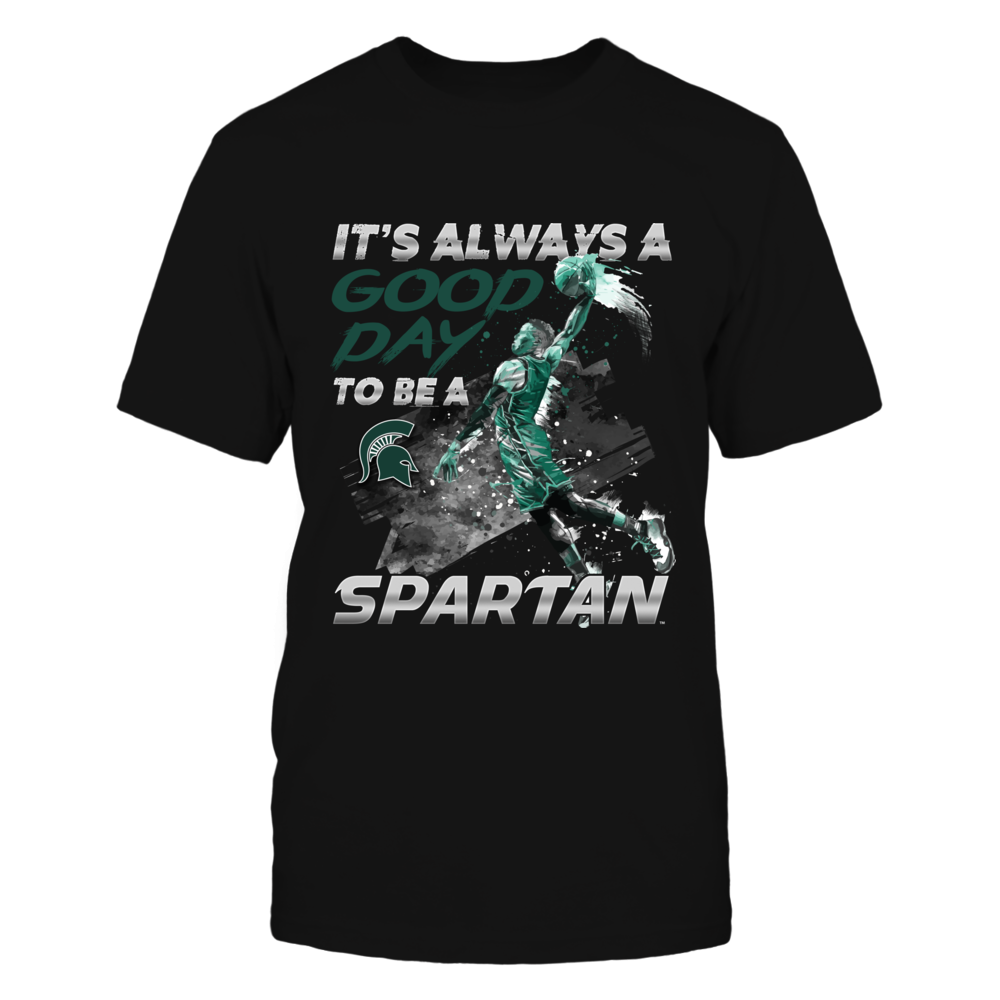 Michigan State Spartans - Good Day To Be A Fan - Basketball Player Front picture