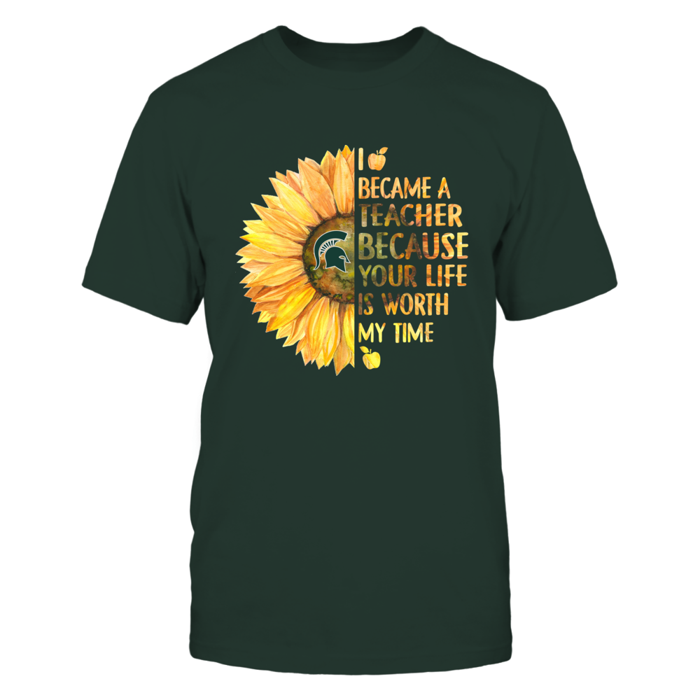 Michigan State Spartans - Teacher - Your Life Is Worth My Time - IF-IC13-DS75 Front picture