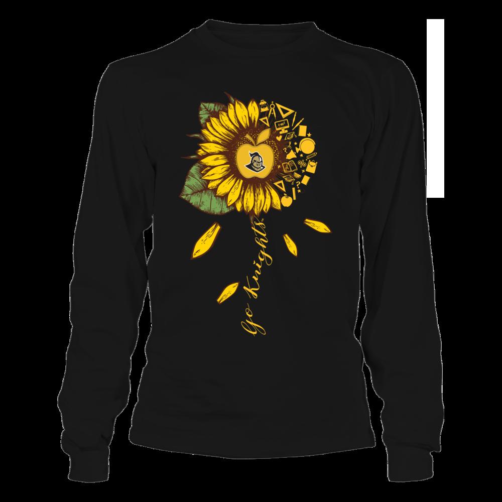 UCF Knights - Teacher - Half Sunflower - Team Quote Front picture
