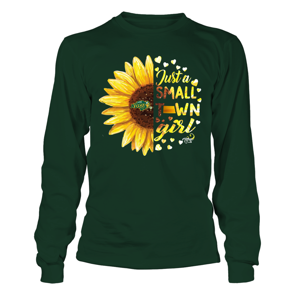 North Dakota State Bison - Half Sunflower - Small Town Girl - IF-IC13-DS27 Front picture