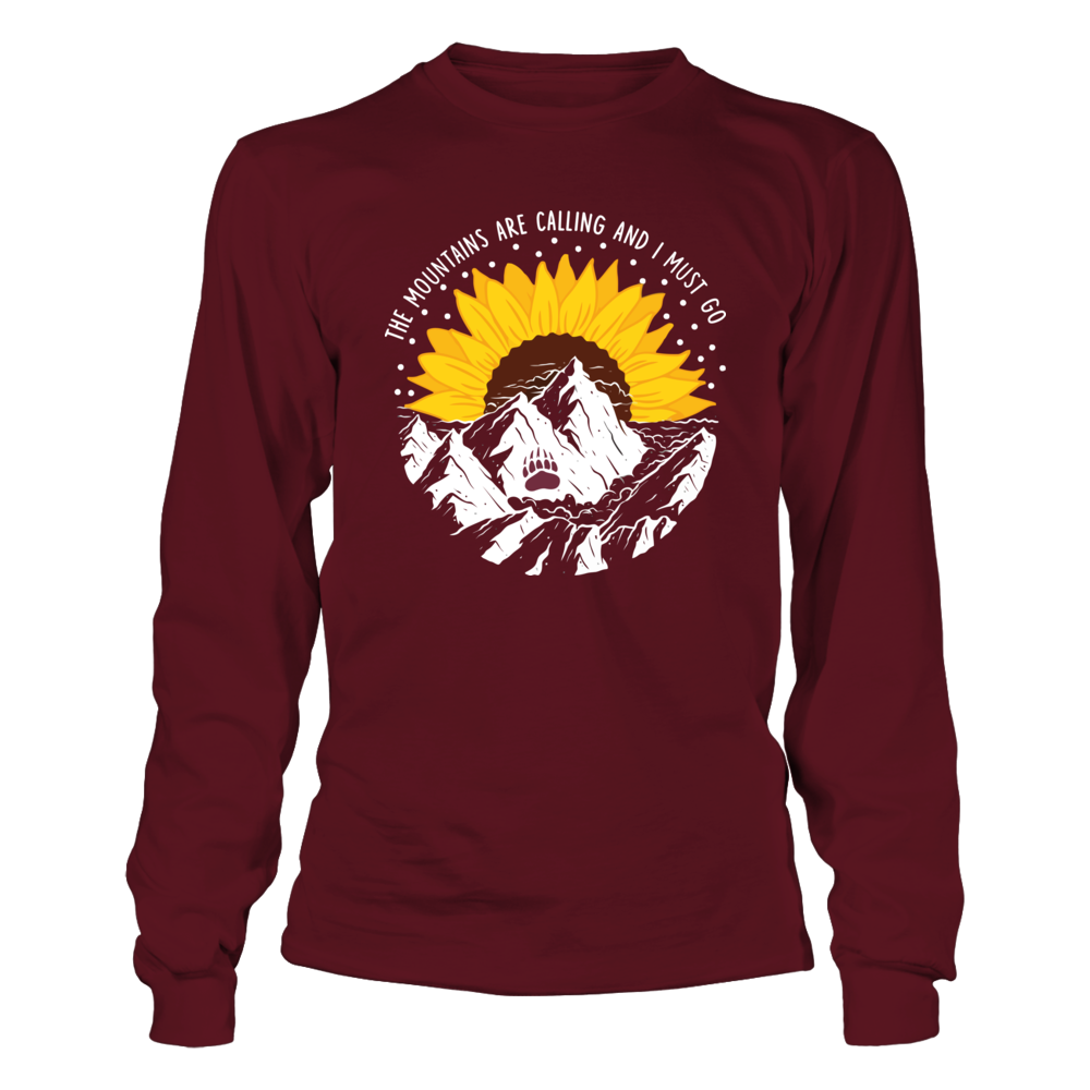 Montana Grizzlies - Half Sunflower - The Mountains Are Calling Front picture