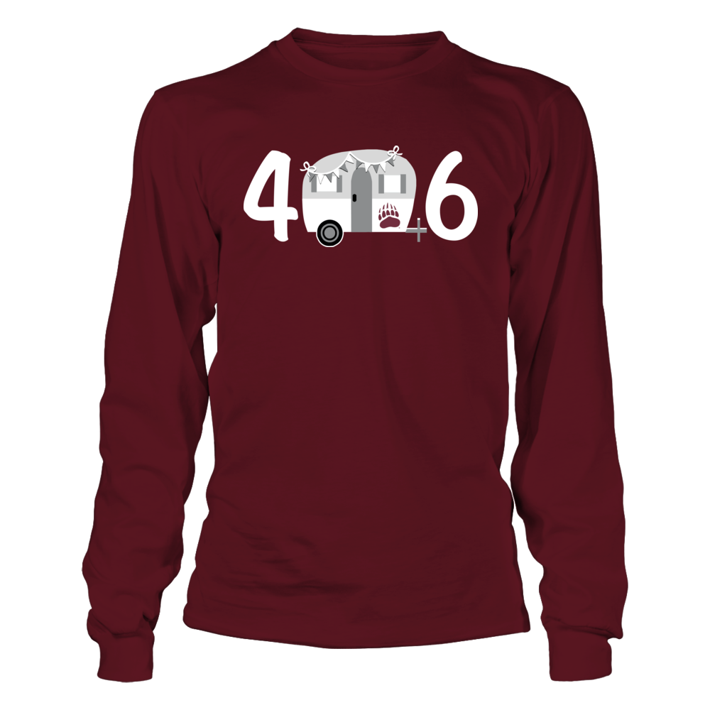 Montana Grizzlies - Area Code Vintage Camping Car Front picture