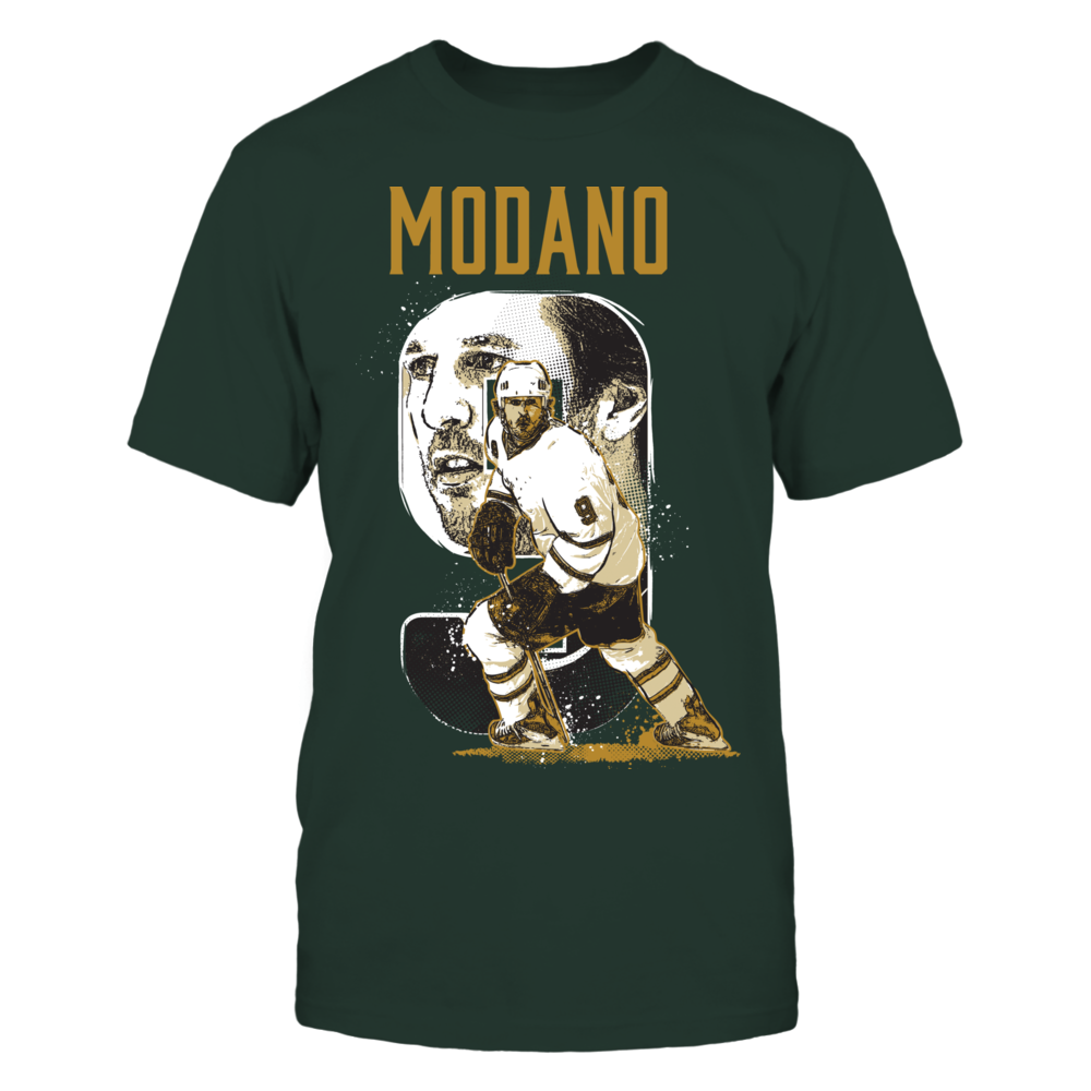Mike Modano - Player Number Front picture
