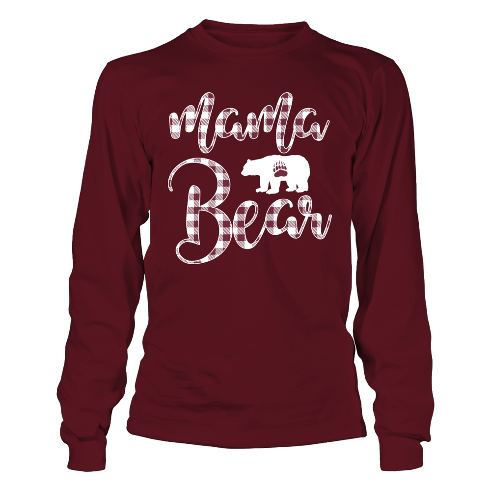 Montana Grizzlies - Mama Mascot - Checked Pattern Front picture