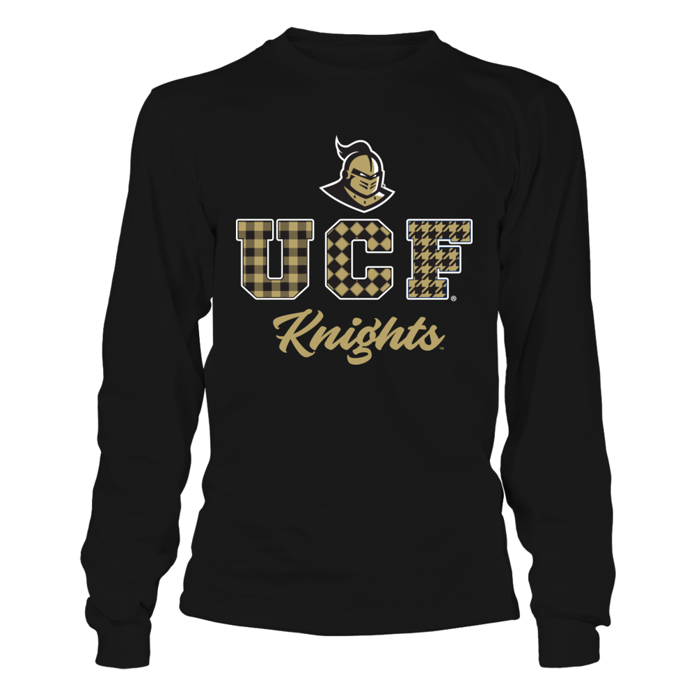 UCF Knights - Team Slogan Checked Pattern Front picture