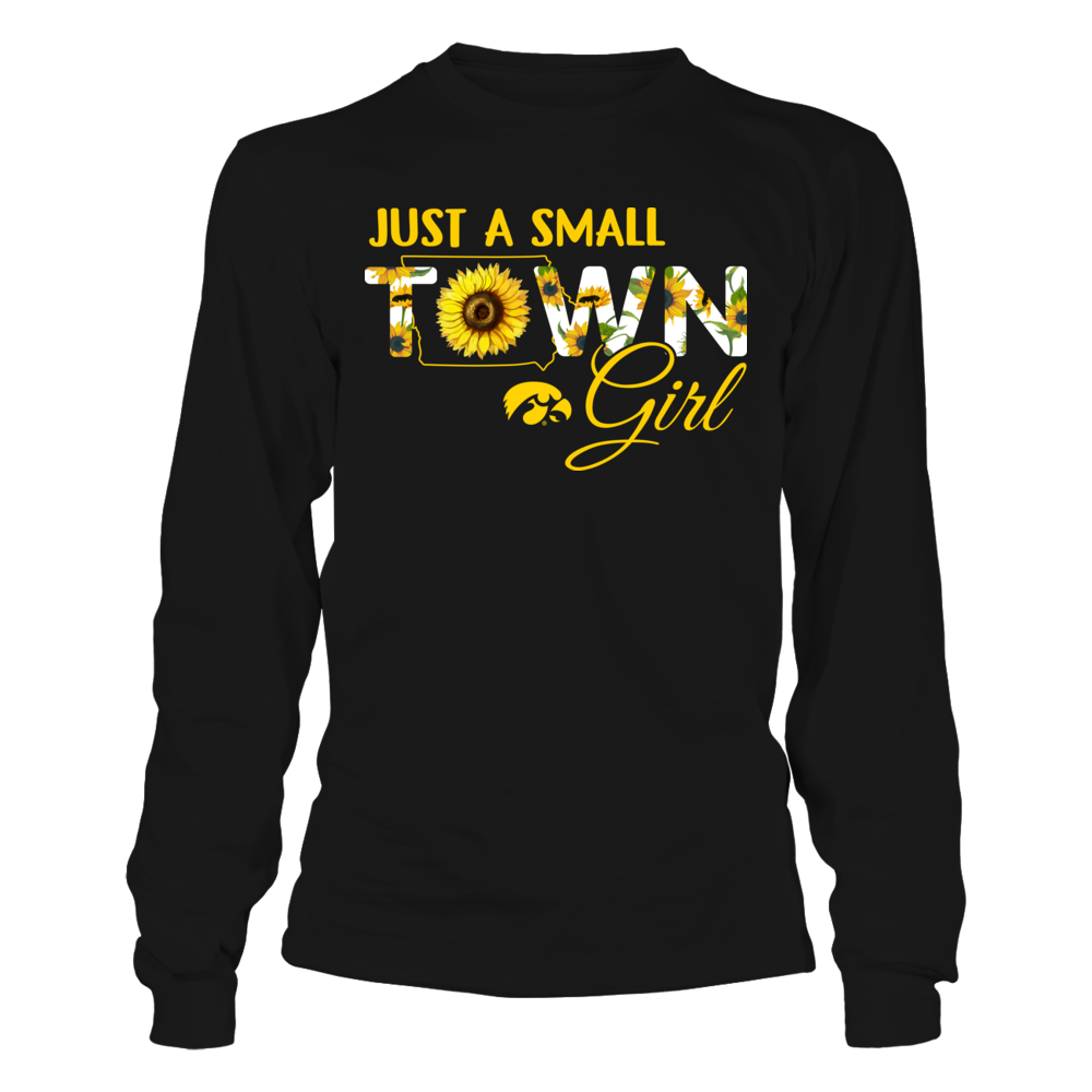 Iowa Hawkeyes - Small Town Girl - Sunflower - Ver 2 Front picture