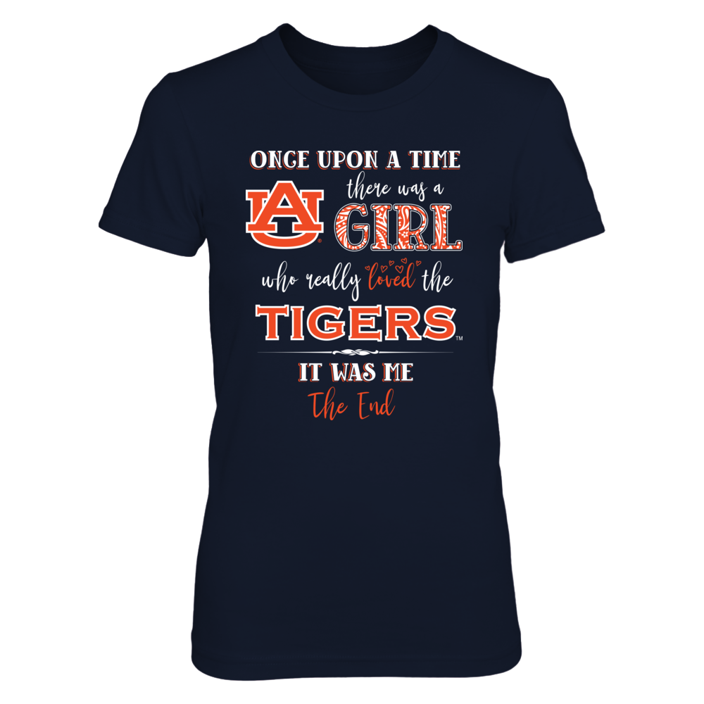 Auburn Tigers - Once Upon A Time There Was A Girl Front picture