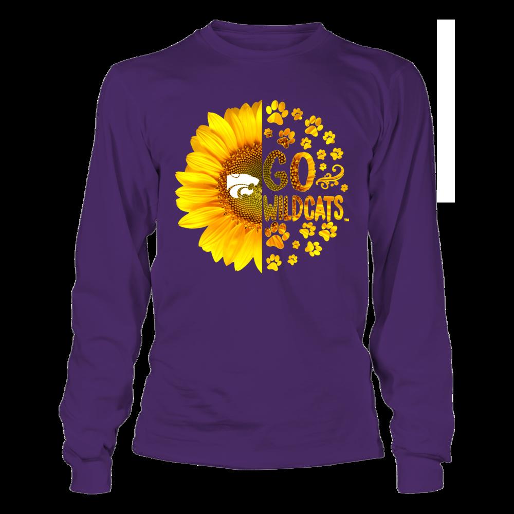 Kansas State Wildcats - Half Sunflower - Team Slogan - Paw Front picture
